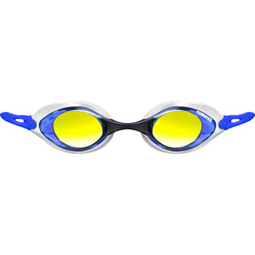 arena Cobra Mirror Goggles blue-orange-blue